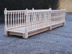 Bro med balustre